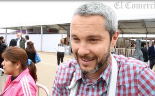 """Diego Ruete en Mistura: """"Es diferente comer que alimentarse"""""""