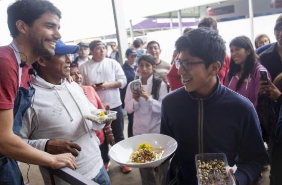 Virgilio Martínez preparó y vendió este plato a S/5