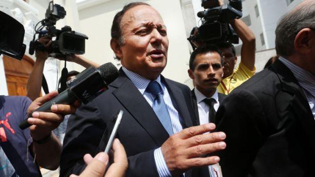 Gutiérrez dice que no acudió a Congreso por estar fuera de Lima
