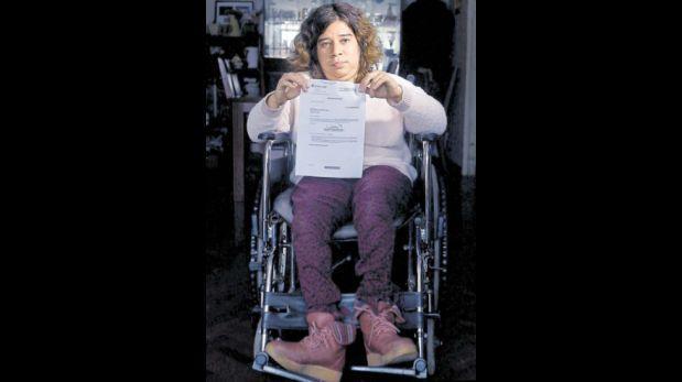 El drama de mujer con discapacidad que encaró al Metropolitano