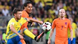 Suecia igualó 1-1 ante Holanda por Eliminatorias Rusia 2018