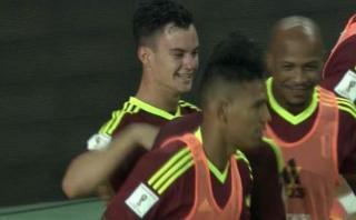 Argentina: Añor abrió marcador para Venezuela con este golazo