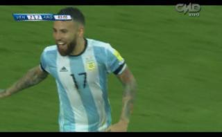 Nicolás Otamendi y el gol que impidió derrota de Argentina