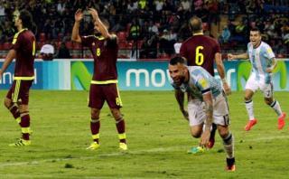 Argentina salvó un empate 2-2 ante Venezuela en Mérida [VIDEO]