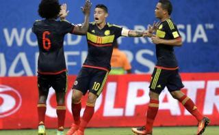 Colombia le empató a Brasil gracias a un autogol de Marquinhos