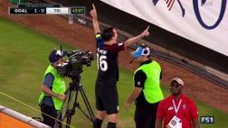 Estados Unidos: el gol de Kljestan que abrió la cuenta
