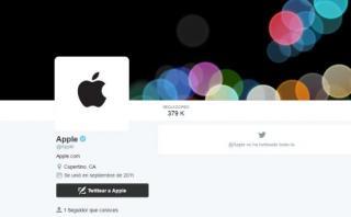 Apple cambia foto de Twitter antes del lanzamiento del iPhone 7