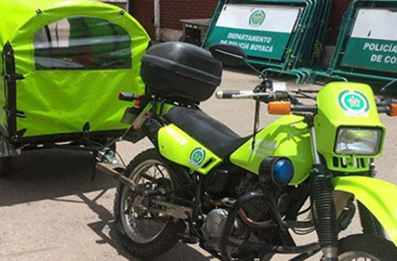 'Perro móvil' policial causa sensación en Colombia