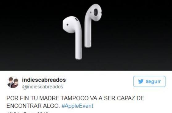 Los memes y reacciones de la conferencia del iPhone 7 [GALERÍA]