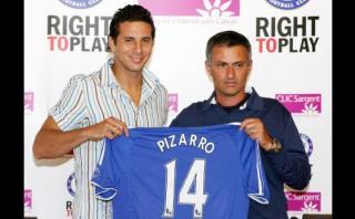 Claudio Pizarro y sus experiencias con Mourinho y Guardiola