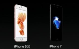 Apple: ¿en qué se diferencian el iPhone 7 y el iPhone 6s?