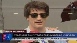 """Hijo de Ricky Tosso: """"Estoy conmovido por el cariño"""" [VIDEO]"""