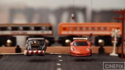 Escena final de Rápidos y Furiosos con autos de juguete [VIDEO]