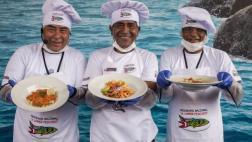 Pescadores cocineros vendieron 4 mil platos en Mistura