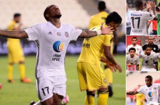 Jefferson Farfán: postales del gol y buen momento en Al Jazira