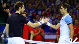 Andy Murray igualó la serie: venció a Pella en Copa Davis 2016