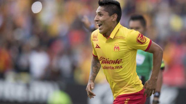 Raúl Ruidíaz es el atacante con mejor promedio de gol en México