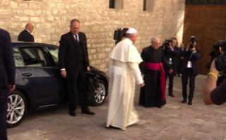 Papa Francisco: No existe un Dios de la guerra