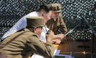 Kim Jong-un dirige prueba del motor de nuevo cohete espacial