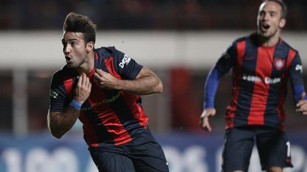 San Lorenzo venció 2-1 a La Guaira por la Copa Sudamericana