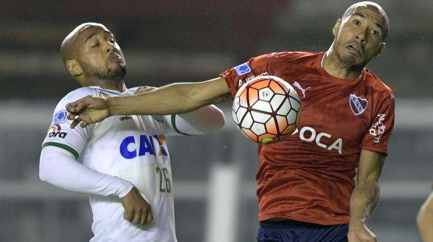 Independiente igualó 0-0 ante Chapecoense por Copa Sudamericana