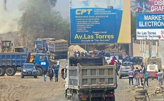 Construcción de avenida causa conflicto en Chosica