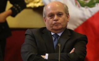 """Pedro Cateriano sobre Nadine Heredia: """"Opinar no es usurpar"""""""