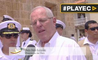 """PPK sobre Colombia y las FARC: """"Es un cambio muy importante"""""""