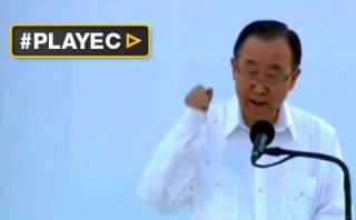 Ban Ki-moon celebró el acuerdo de paz entre Colombia y las FARC
