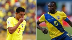 Selección de Ecuador sufre las bajas de Montero y Ayoví