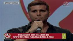 Teletón 2016: Christian Meier inició el evento con musical