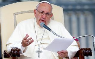 """Papa Francisco: """"Hay guerra global para destruir el matrimonio"""""""
