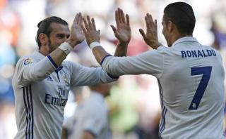 Gareth Bale anotó luego de gran desborde de Cristiano Ronaldo
