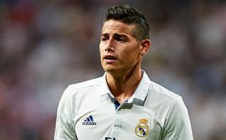 James Rodríguez podría ser baja en Colombia por lesión muscular