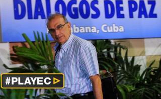 Colombia: Jefe negociador de paz pone su cargo a disposición