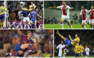 Ibrahimovic cumple 35 años: los 10 mejores goles en su carrera