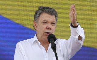 Santos, el obstinado líder que busca la paz de Colombia