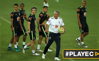 Así se prepara Brasil previo al encuentro con Bolivia [VIDEO]