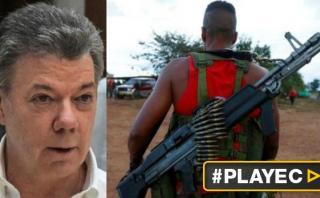 Santos alerta: Alto al fuego con FARC termina el 31 de octubre