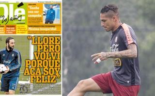 Lo que dice la prensa de Argentina sobre el partido de mañana