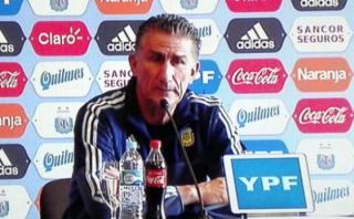 """Edgardo Bauza: """"Perú ha mejorado mucho con Ricardo Gareca"""""""