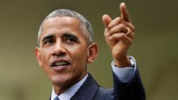 """Obama celebra """"día histórico"""" contra el cambio climático"""