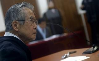 Fujimori fue llevado a clínica por riesgo de isquemia cerebral