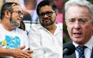 """FARC: """"Colombia no es Uribe, por Dios. ¡Queremos paz!"""""""
