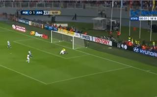 Así narraron en Argentina los dos goles de la selección peruana