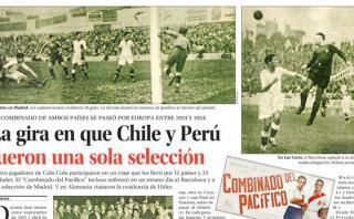 Prensa chilena recordó así al histórico Combinado del Pacífico