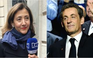 Ingrid Betancourt apoya candidatura presidencial de Sarkozy