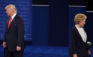 La agenda de Clinton y Trump tras el virulento debate