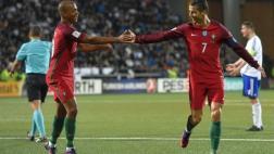 Portugal goleó 6-0 a Islas Feroe por Eliminatorias europeas