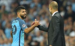 Agüero reveló que Pep Guardiola quería dirigir a Argentina